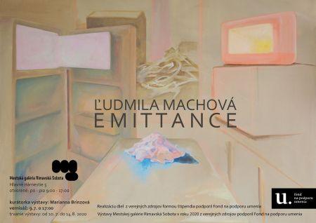 Ľudmila Machová EMITTANCE malá pozvánka