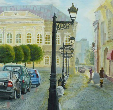 Arany óra a Fő téren-Zlatá hodina na Hlavnom námestí