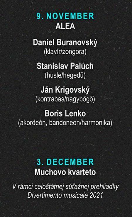 Dalšie koncerty