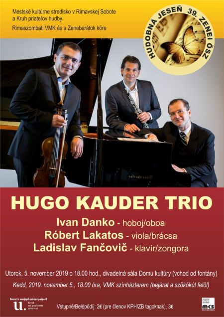 Hugo Kauder trio